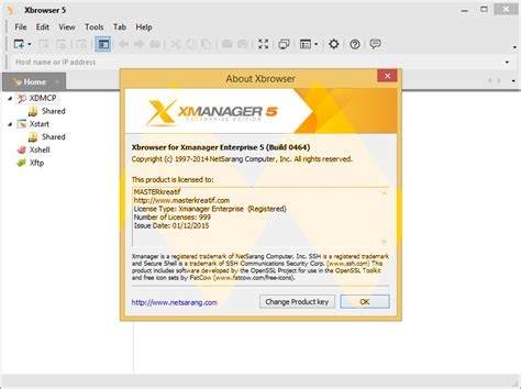 x manager xmanager product key free download