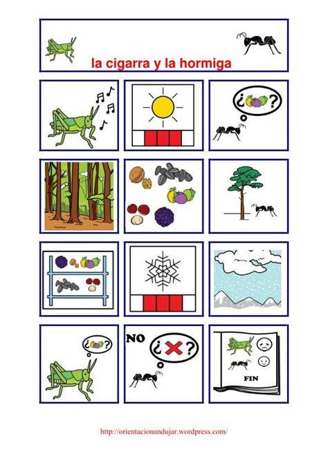 cuentos de ahora el continuando la serie de cuentos con pictogramas nos atrevemos ahora con otra f 225 bula de samaniego