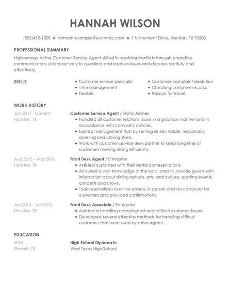 professional insurance customer service representative templates
