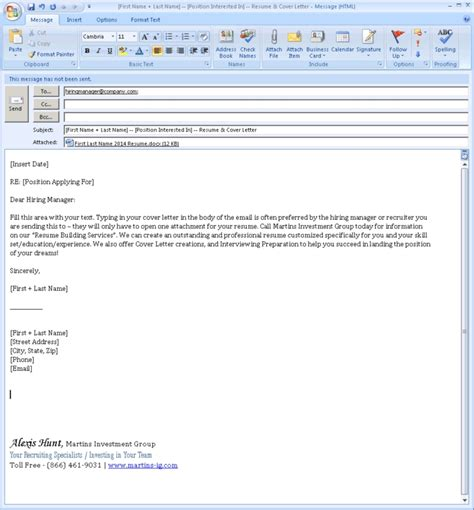Do You Email Cover Letter As Attachment Email Cover Letter Format Whitneyport Daily
