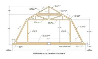 how to build a barn style roof pole barn gambrel truss with a gambrel roof is