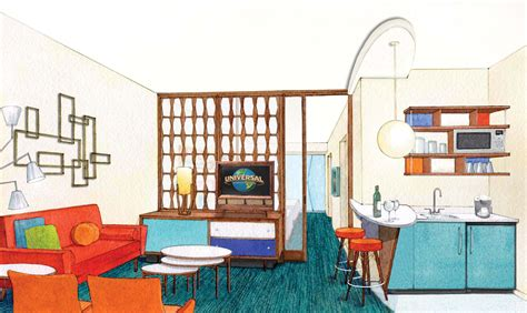 universal cabana bay rooms new 50 s themed family suite and value hotel announced at universal orlando zannaland