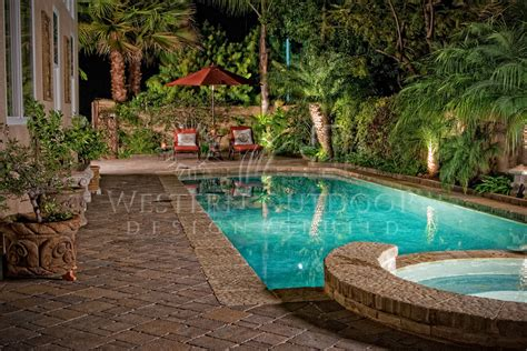 pool and patio decor tropical landscape architect garden design gallery western