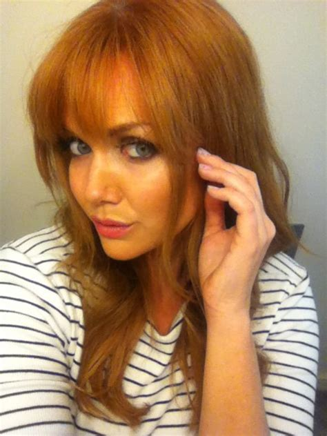Cutting Bangs At Home by How To Cut Trim Your Own Bangs Girlgetglamorous
