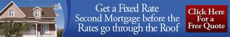 bill consolidation second mortgage 125 home equity loans