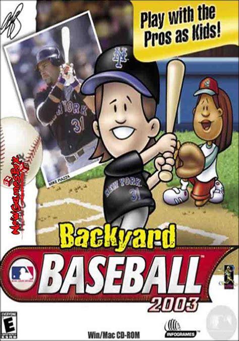 backyard baseball 2003 pc backyard baseball 2003 free download full pc game setup