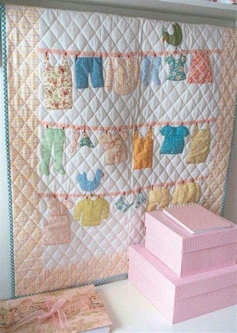 clothes quilt pattern clothes line baby quilt patchwork yorgan ve aplike