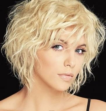 Pictures Of Best Hair Style For Stringy Hair | легкая химия на короткие волосы фото до и после