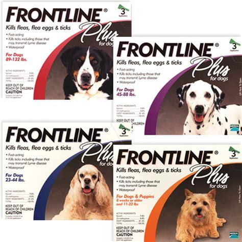flea tick frontline plus dogs frontline plus flea tick that pet place