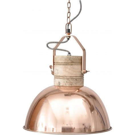 buy medium copper ceiling pendant light from fusion living