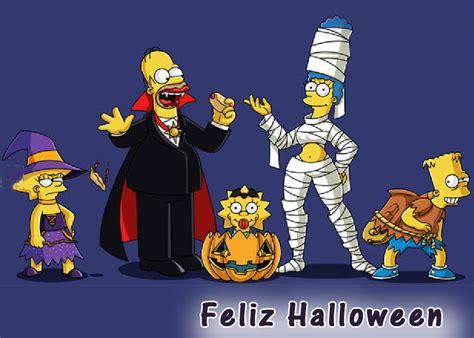 imagenes de feliz halloween feliz halloween los simpsons universo guia
