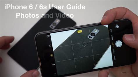 iphone   user guide  camera   editing