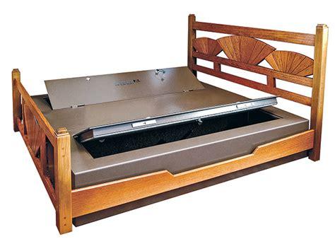 gun safe bed gun safe in bed bedroom review design