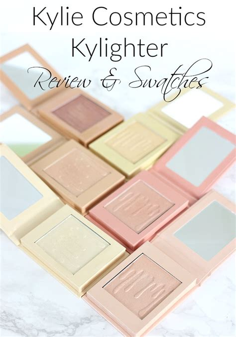 Cosmetics Kylighter cosmetics kylighter review swatches everyday starlet