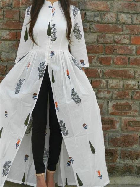 new jeans pattern in india white multi block printed cape shop now www