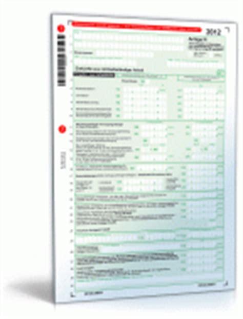 Bewerbung Anlagen Sortierung Steuer 2012 Alle Amtlichen Steuerformulare Zum Gratis