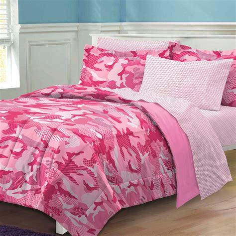 total fab pink camo camouflage comforters and bedding for