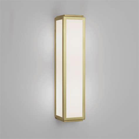 Gold Bathroom Lights Astro Lighting 7801 Mashiko 360 Bathroom Wall Light In Matt Gold