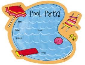9 best images of free printable birthday invitations pool free printable pool