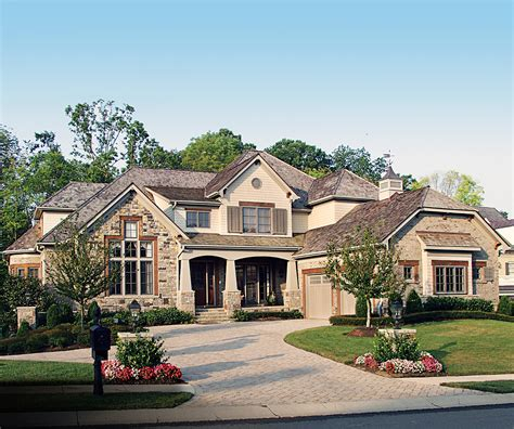 award winning craftsman manor 17532lv architectural