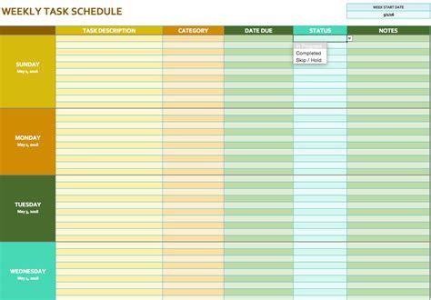 excel schedule template doliquid