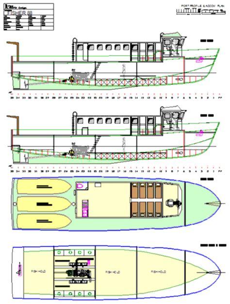 fiberglass fishing boat plans trawlers trawler yachts fishing boat plans boat plans