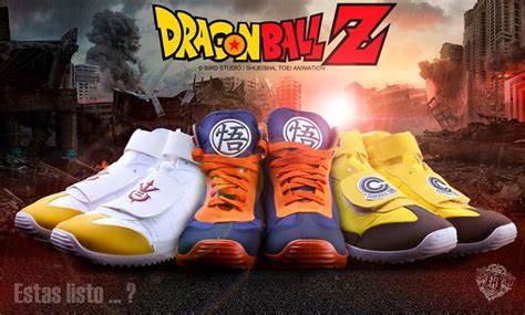 imagenes chanclas nike these mexican dragon ball shoes come in goku vegeta and