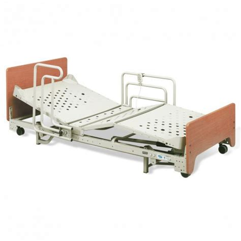 invacare dlx hospital bed with extendable adjustable mattress deck