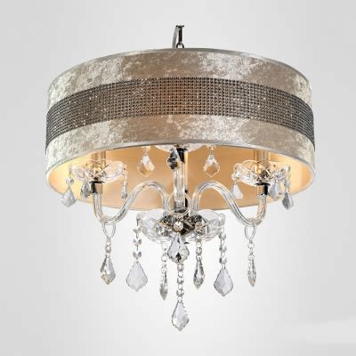 l shade with crystal droplets stunning plastic crystal embedded shade clear crystal