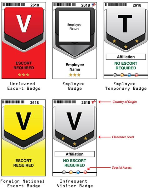 company badge template company visitor badges by jonathanpaints on deviantart