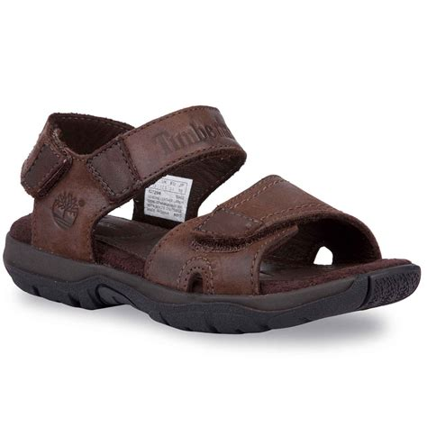 timberland boys sandals timberland e k cove 3 brown boys sandals