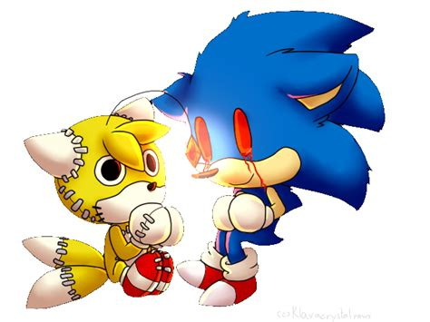 imagenes de tails kawaii chibi sonic exe and tails doll by klaracrystalpaws on