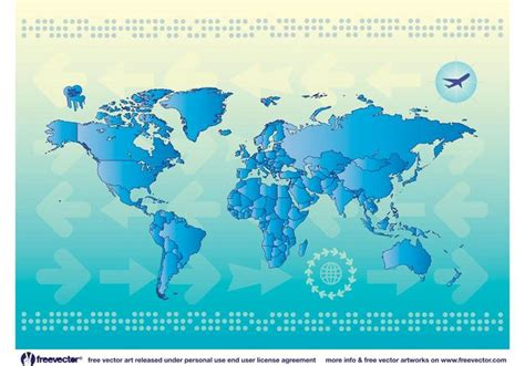world map vector 2 world map countries free vector stock