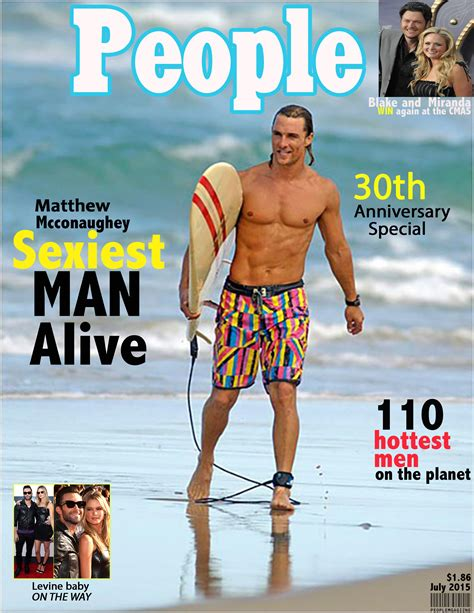 Magazine Cover Rocki Long Sexiest Alive Magazine Cover Template