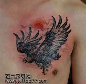 tato di punggung belakang 胸口鹰纹身图案大全 排行榜大全