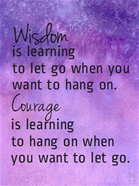 living free letting go to restore and courageously books inspirational picture quotes wisdom is learning to let