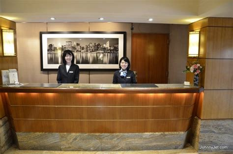 kitano hotel front desk johnny jet