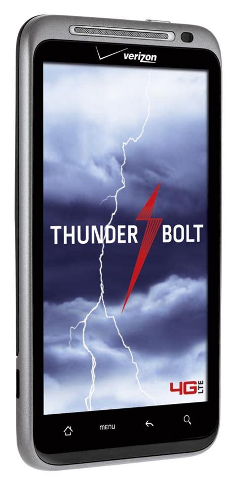 htc thunderbolt high end android 4g lte phone verizon