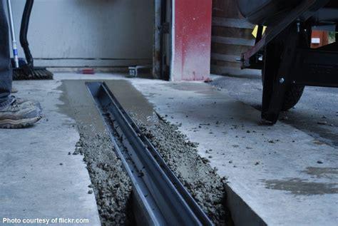 How To Install A Garage Floor Drain by Water Flooding Garage Door Garage Door Repair San