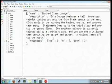 tutorial python text adventure a text adventure in python youtube