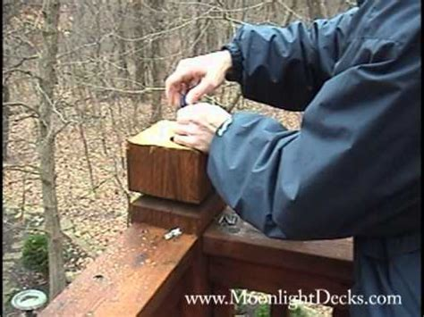 electric post cap lights how to wire low voltage deck lights and post caps part 7