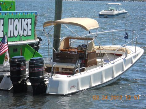 deck boats for sale pittsburgh larry goltz s 21 1972 boston whaler ribside outrage