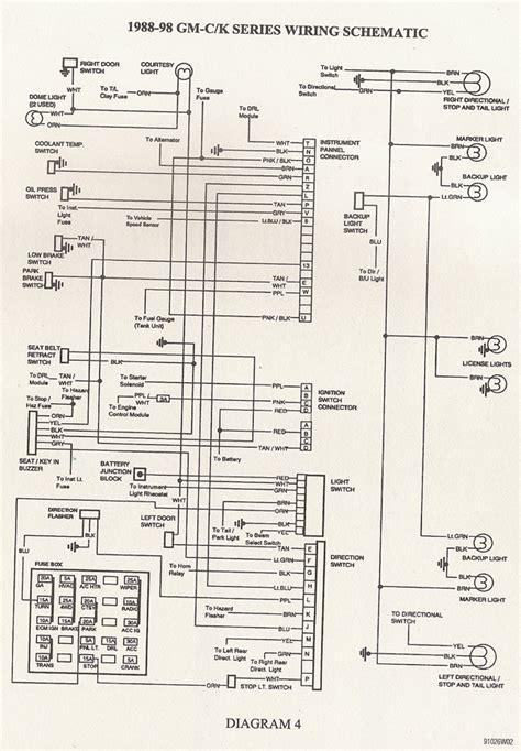 chevy suburban gauge wire diagram wiring diagram networks