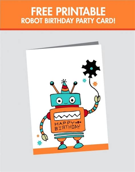 Free Printable 8 Year Birthday Cards