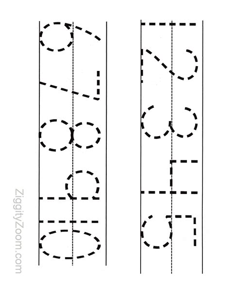 free printable kindergarten numbers printable numbers tracing worksheet for preschool
