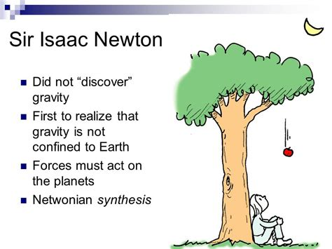 isaac newton biography gravity chapter 4 gravity projectiles satellites ppt video