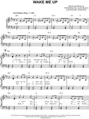 avicii wake me up download avicii quot wake me up quot sheet music easy piano download