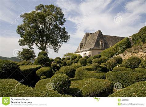jardines franceses jardines franceses foto de archivo imagen 42851883