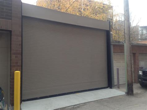 Chicago Overhead Door Rolling Steel Door Garage Door Professionals Of Chicago