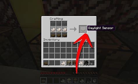 Minecraft Light Sensor by How To Make A Daylight Sensor In Minecraft 7 Steps